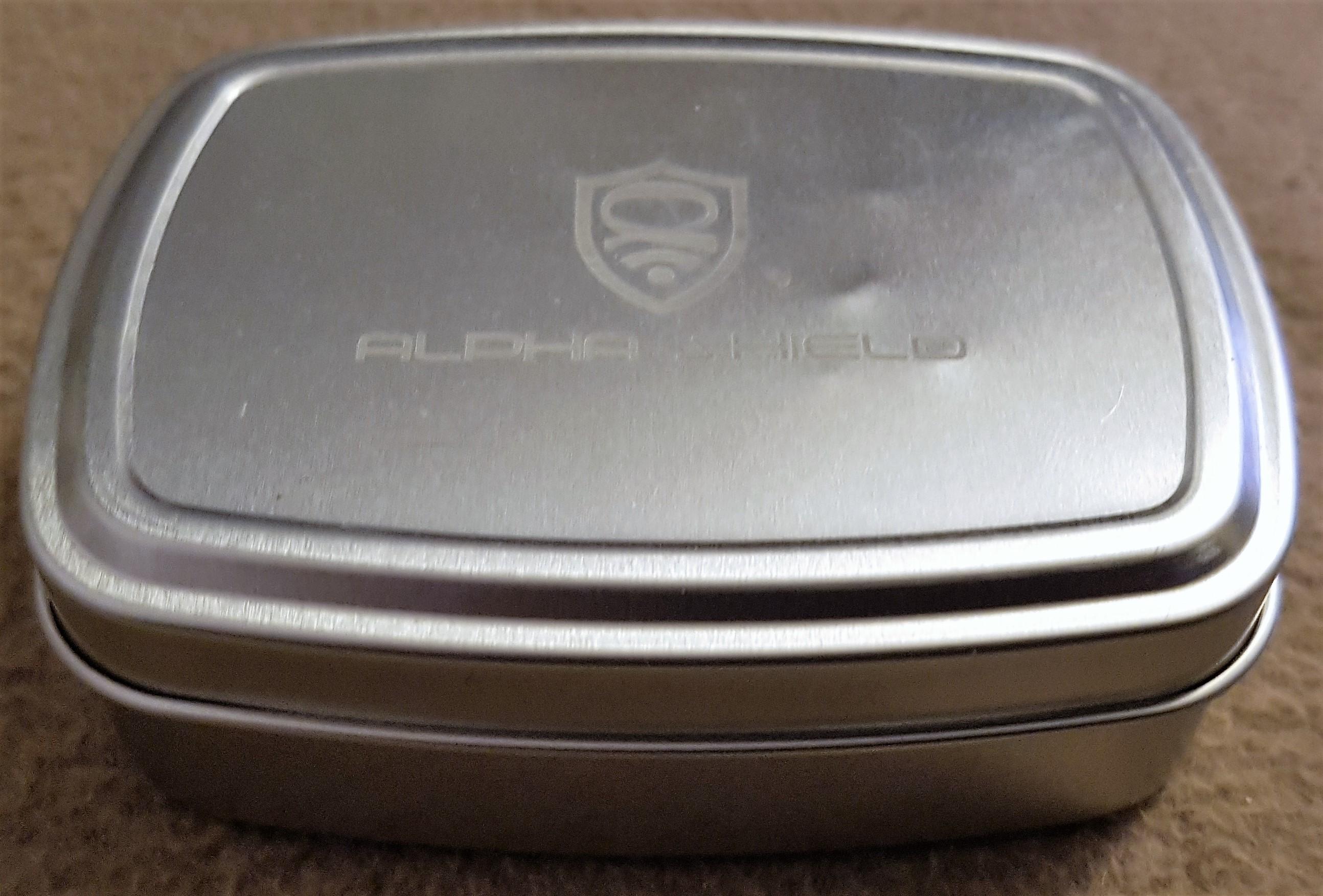 alpha shield keyless go schutz aluminiumdose f r. Black Bedroom Furniture Sets. Home Design Ideas